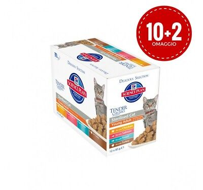 Hill's Science Plan Feline Sterilised Cat Young Adult Multipack