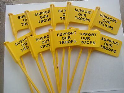 25 pack RANGEQUIP Empty Chamber Indicator Safety Flag (Safety Yellow)