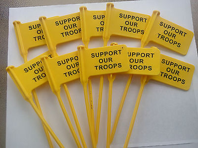 50 pack RANGEQUIP Empty Chamber Indicator Safety Flag (Safety Yellow)