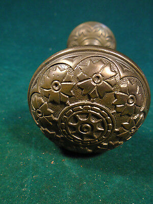 SET of 1885 HOPKINS & DICKINSON 8 FOLD  DOOR  KNOBS - BLUMIN K-213 - NICE (6342) • CAD $50.97