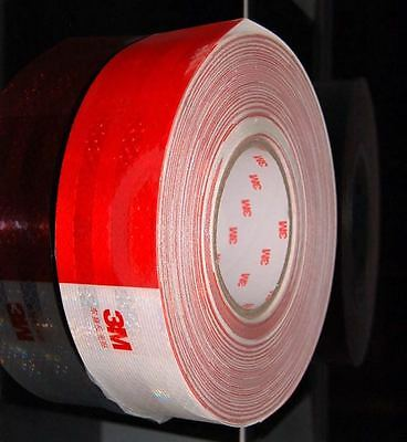 3M 983D Reflective Adhesive Tape Conspicuity Tape for Cars, Trucks, Road Safety