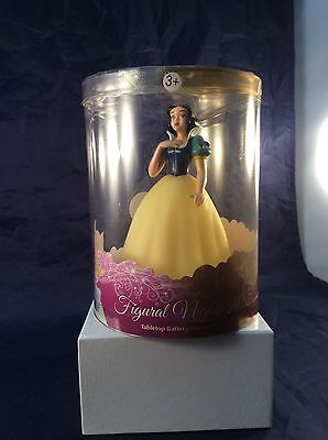 "Disney Princess SNOW WHITE  Night Light Tabletop 6"" Tall - New"