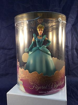 "Disney Princess Figural Night Light Tabletop 6"" Tall - New"