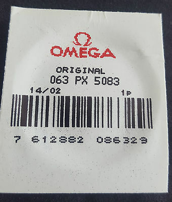 Omega Plexiglass Crystal PX5083 with Yellow Colour Tension Ring