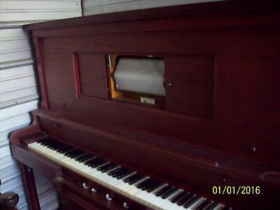 Antique Cadillac Player Piano No. 13161  P/u Pa  Reduced For Quick Sale!