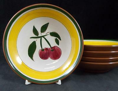 Stangl FESTIVAL 5 Fruit Bowls GREAT CONDITION