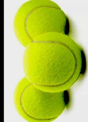 Tennis Balls Pack Of 3 Great Fun For Outdoor And Indoor Game