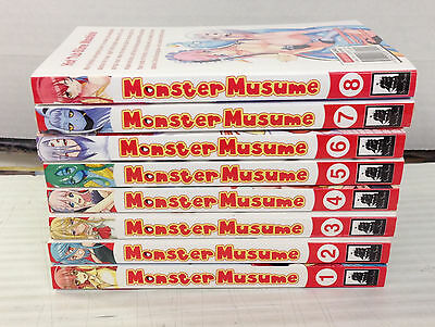 Monster Musume Vol. 1-8, by Okayado, OT