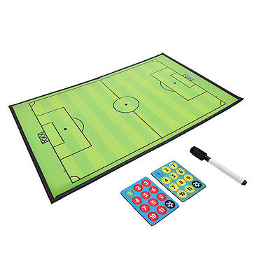Champion Tactics Football Referee Soccer Tactical Match Training Board Kit TO