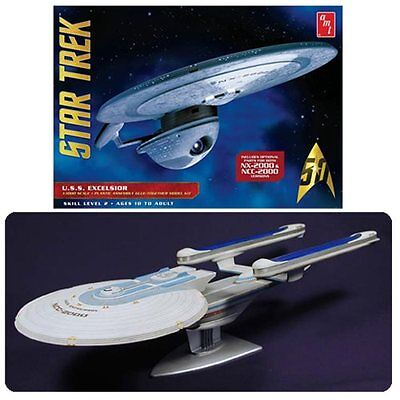 Star Trek USS Excelsior Model Kit 1:1000