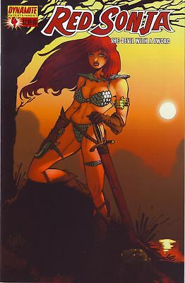Red Sonja : She Devil WIth A Sword #4 (4C cover) Dynamite Entertainment