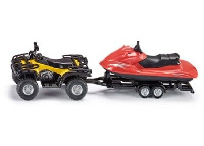 Siku - Quad with jet-ski - 1:50 Scale NEW toy model # 2314
