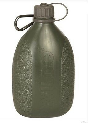 WILDO Hiker Bottle FELDFLASCHE Outdoor Camping Field bottle OLIV