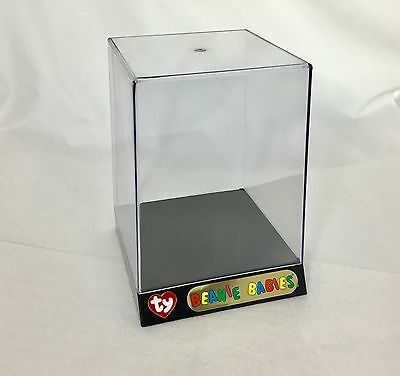 NEW Never Used Official TY Beanie Babies Acrylic Plastic Display Case Stand