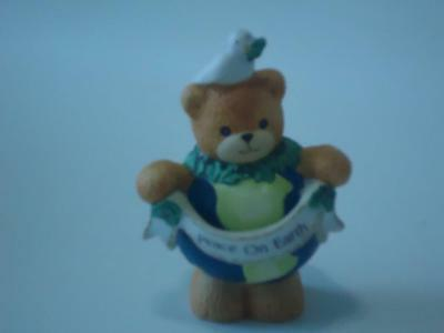 LUCY & ME Peace on Earth Bear  ~ Enesco Lucy Rigg 1992
