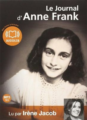 Po//42167//le Journal D'anne Frank Livre Audio Cd Mp3 Neuf