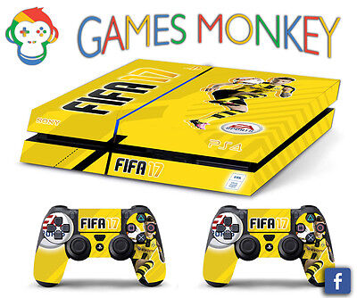 Skin PS4 FIFA 17 REUS limited edition DECAL COVER Playstation 4 SONY BUNDLE