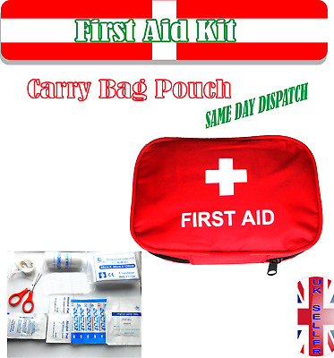 First Aid Kit Carry Bag Pouch UK Seller
