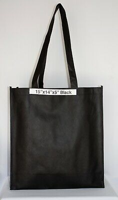 Shopping Bags Eco Friendly Reusable Recyclable Gift Promo Bag (Large) 100 Pieces