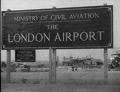 LONDON HEATHROW 1949 DVD as it was under construction
