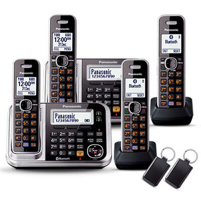 Panasonic KX-TG7894AZS Cordless Phone (QUAD) with GEN PANASONIC WARR