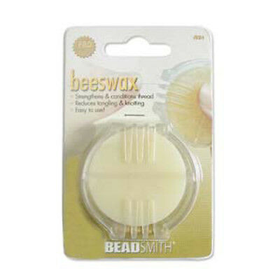 Bees Wax - strengthens & conditions thread and cord.