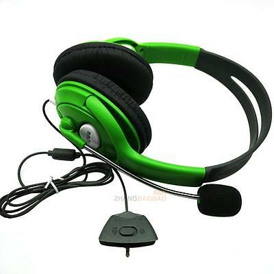 Wired Gaming headphones Headset For XBOX One 360 PC Computer TV ABXY key