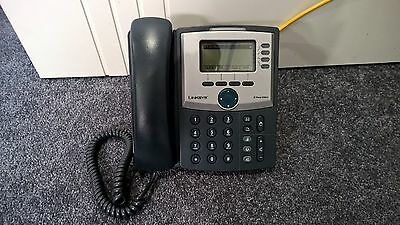 Cisco Linksys SPA942 4-line VoIP IP Business Phone w/ 2-port Switch, POE & SIP