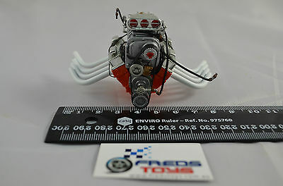 1:18 scale Blown 427 Chevy Dragster Engine suitable for 1:18 model car A1800811E