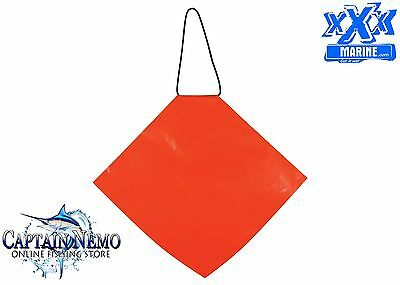 Orange Safety Flag Boat Safety Flag Towing Safety Flag 300Mm X 300Mm Sf300