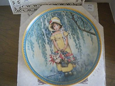 """""""Easter"""" 1st Jessie Wilcox Smith Childhood Series Knowles Collector Plate 1986"""