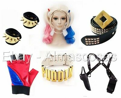 Harley Quinn Costume Accessories USA Harley Quinn Cosplay Halloween Jewelry