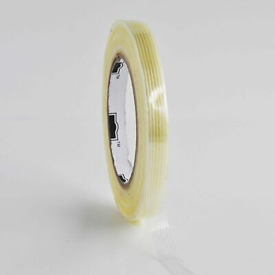 """720 Rolls 1/2"""" x 60 yd Filament Strapping Tape 10 Cases"""
