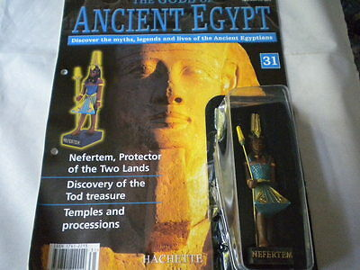 Hachette The Gods of Ancient Egypt - Issue 31 - Nefertem protector of the two la