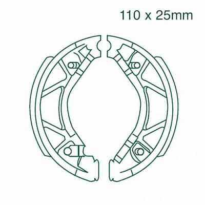 For Yamaha XC 125 E Vity 2008-2013 Brake Shoes Rear With Springs Ebc