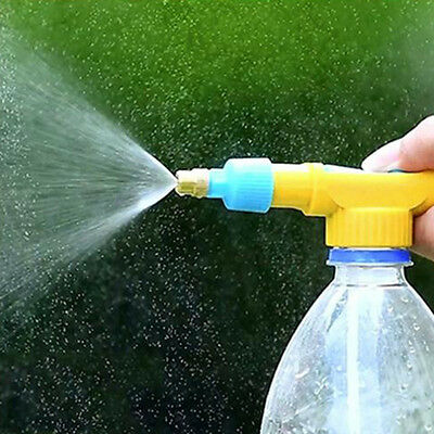 Easy Portable Bottle Water Gun Pressure Water Type Sprayer Spray-head