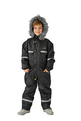 Kids snowsuit ski suit  Athletic Jacket Childrens Thermal Skiing Sports Coverall