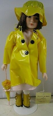 """1984 11"""" Tall Mann Fashion Doll Of the Month Little Miss April"""