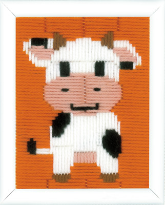 Vervaco Cow Long Stitch Kit