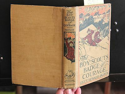 Vintage Book Boy Scouts' Badge Of Courage
