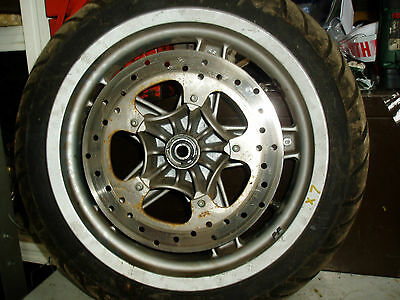 Piaggio X7 X8 X9 125 Front Wheel Disc 7 Tyre Complete 120/70-14