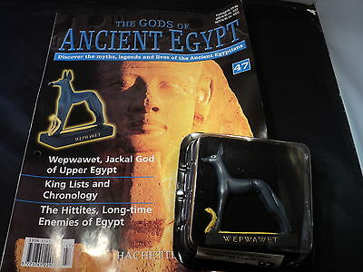 Hachette The Gods of Ancient Egypt - Issue 47 - Wepwawet the jackal God of uppe