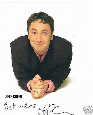 Jeff Green stand up comedian Hand signed 6 x 4 Photograph