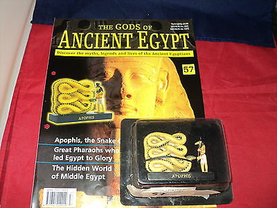 Hachette The Gods of Ancient Egypt - Issue 57 - Apophis - the snake god