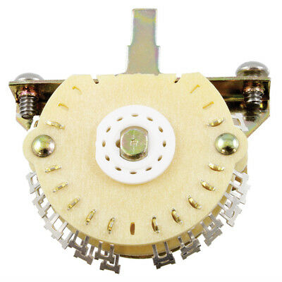 NEW  Oak Grigsby 4-Pole, Double Wafer, 5-Way Super Mega Switch for Strat, Guitar