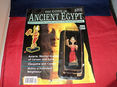 Hachette The Gods of Ancient Egypt - Issue 58  Astarte warrior Goddess of Canaan