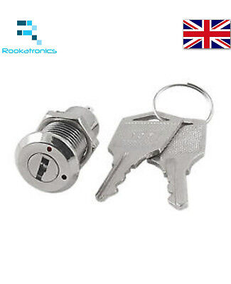 New 12mm Practical Durable 2 position on/off key switch with 2 keys -Free Post