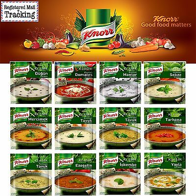 3 packs Knorr Traditional Turkish Soups Collection - Made in Turkey