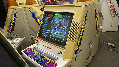 Sega New Versus City Twin Arcade Machine Jamma Cabinet Working