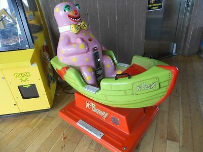 Mr Blobby Kiddie Ride Working. Coin Op, Arcade